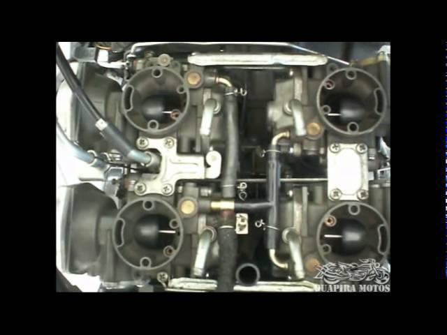 Explicação sobre diafragma e Equalização de carburador - Yamaha Vmax 1200