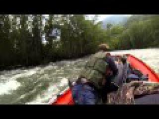 река КОРГОН на водомете / 3 -й фильм из цикла