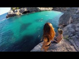 Alexander Tikhomirov on Instagram Best cliff jump ever. When I say - cliff, I mean, she jump right on the fucking rock) full video, link in my bio