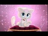 Детский клип про котика и кошечку