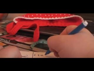 Caciulita tricotata partea I _Вязание спицами для начинающих Вязаная шапка_How to knit a hat