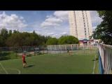 Футбол. 1х1 (два касания). Игра с Алексеем №2. 9 сет. 2 часть.