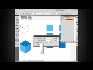 4. Creating isometric objects using the scale shear and rotate tools