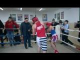 Мой первый бой в Чечне в клубе Ахмат