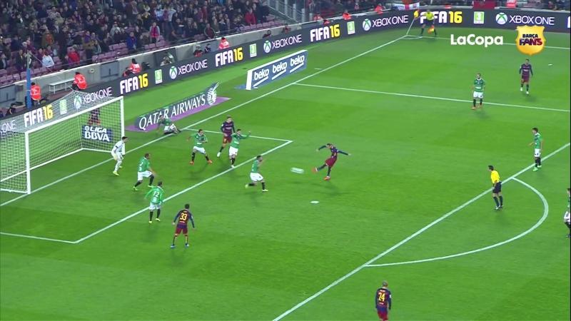 Video highlights of FC Barcelona 6-1 Villanovense at Camp Nou