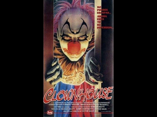 Дом Клоунов (1989)боевик, триллер, пятница, кинопоиск, фильмы ,выбор,кино, приколы, ржака, топ
