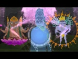 Jaia Ganesha - Dum Dum Project light and dance by VJ Flo