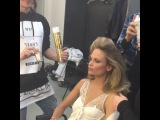 "Anna Dello Russo on Instagram: ""Backstage @voguejapan precious moment @luigimurenu doing hair to @natashapoly on set before pic by @luigiandiango ? (shes wearing…"""