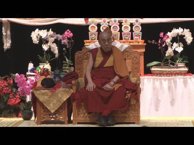 Далай-лама. Основы буддизма. Лекция в Мэдисоне