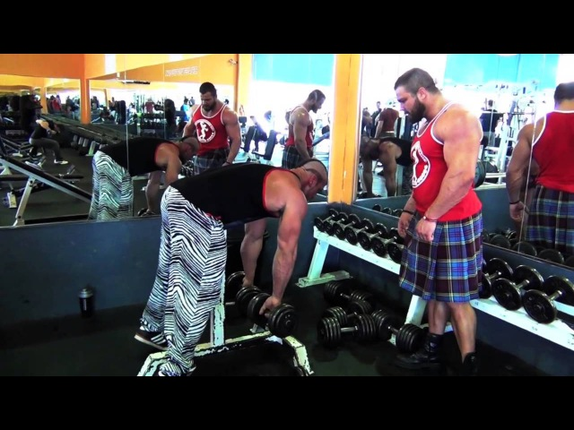 ANTOINE VAILLANT, CED MIKE JOHNSON - DELTOID AND TRAPS SMASHING TIME(spring 2013)