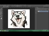 CoolMaster. Урок Photoshop №9. Как нарисовать собаку с помощью фотошопа