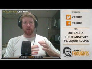 Thorin's Thoughts - Outrage at the Luminosity vs. Liquid Ruling (CS:GO)