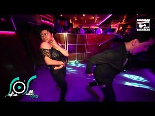 Umberto Nocita & Kristel - social dancing @ Salsa O'sulli Paris