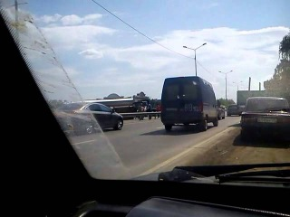 Авария Челябинск на Меридиане 28.05.2015 около 14:00