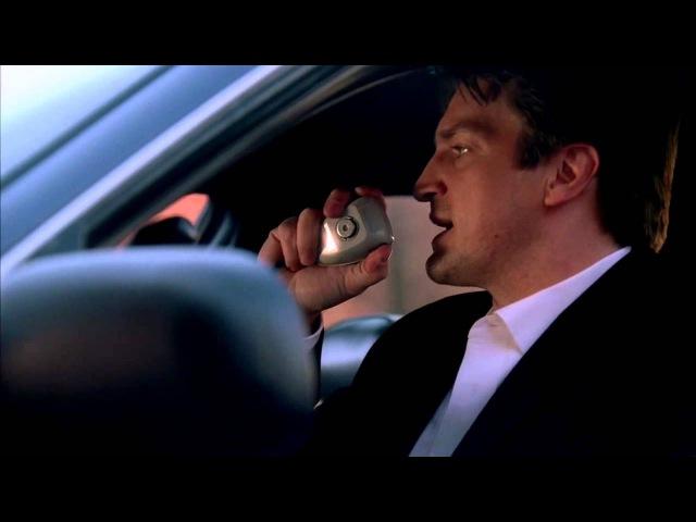 Касл. Сцена в машине.На на на нан на нан на.Лучший