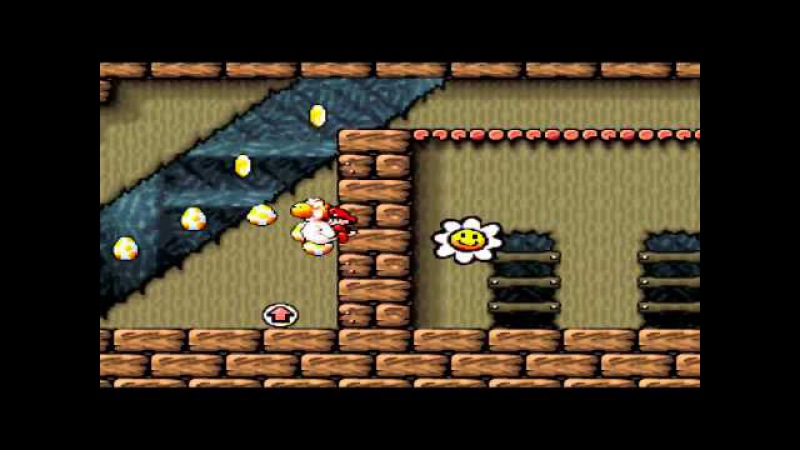 Azatron - Super Mario World 2 , STAGE 1 [snes9x]