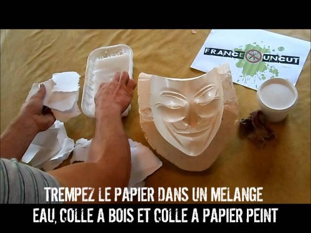 Réalise ton masque de Guy Fawkes