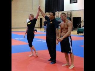 Hot women beat Muscle men Grappling finals Tournament
