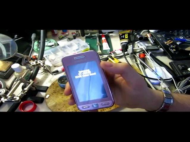 Сброс на заводские настройки Samsung gt-s5230(How to master reset Samsung S5230)