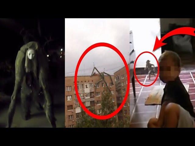 Топ 10 Загадочные существа, призраки, НЛО, Гномы снятые на видео