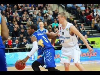 Tsmoki-Minsk vs Bisons Highlights March 20, 2016