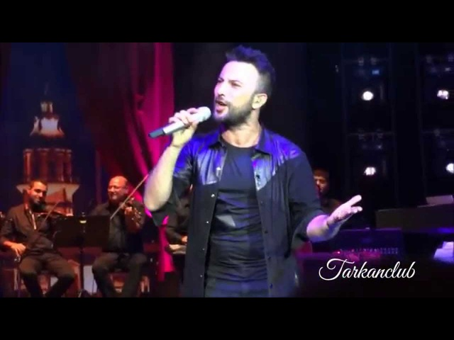 TARKAN Dalgalandım Da Duruldum Live @ Harbiye, Istanbul - September 7th, 2014