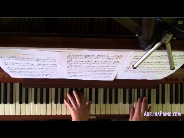 Carlos Gardel - Por Una Cabeza - piano cover