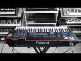 Roland JX-3P Analog Synthesizer (1983) 80s retro sounds