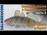 Зимняя рыбалка в Камском устье часть 3