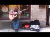 Dave Stewart - Don't stop believin' Stockholm Street Artist