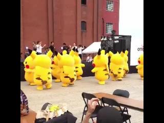 So this kind of happened randomly in Yokohama
