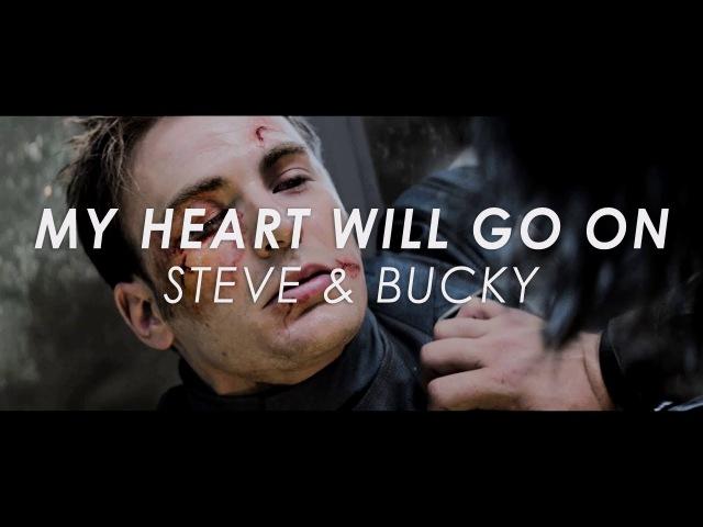 My heart will go on steve bucky