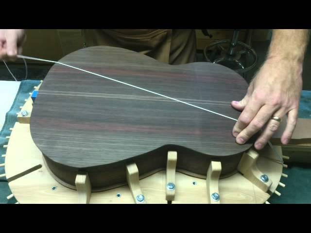 Stephen Boone Guitar Maker Classical guitar making My 24th guitar build