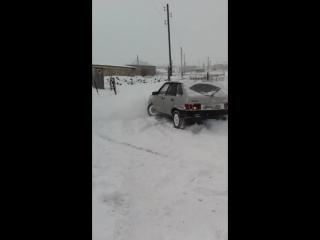 ВАЗ 2109 (360 по снегу)