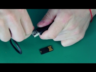 Как сделать скрытую шпионскую флешку своими руками _ How to make a hidden spy memory stick