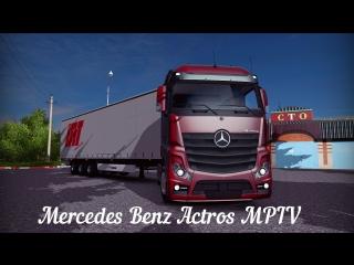 [ETS2 v1.10.1.12s] Mercedes Benz - Actros MPIV