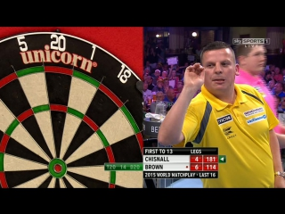 Dave Chisnall vs Keegan Brown (World Matchplay 2015 / Round 2)