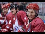 Путин. Шойгу. Лукашенко вышли на лед и сыграли в хоккей