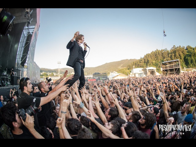 Refused - New Noise (Live at Resurrection Fest 2015, Spain)