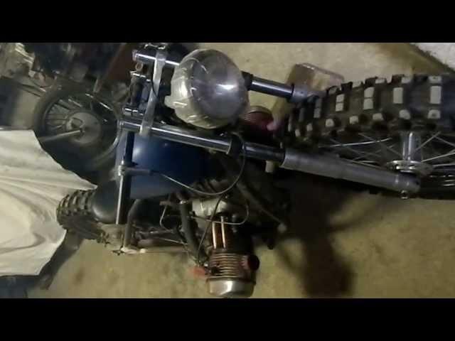 Custom bobber Ural M63 750 cc Sound