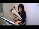 Amazing Grace (Euphonium and Piano play Misa Akahoshi)