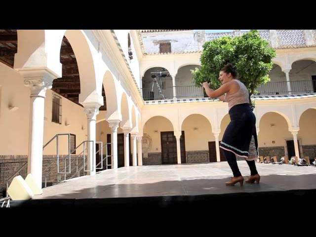 2ª clase para el flashmob con Pastora Galván