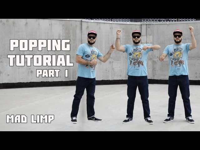 Popping Tutorials | Lesson 1 - Robot Style ( Isolation | Body Control ) Part 1