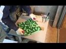 Как резать мозаику, смальту по диагонали и клеить
