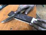 Как точить якутский нож