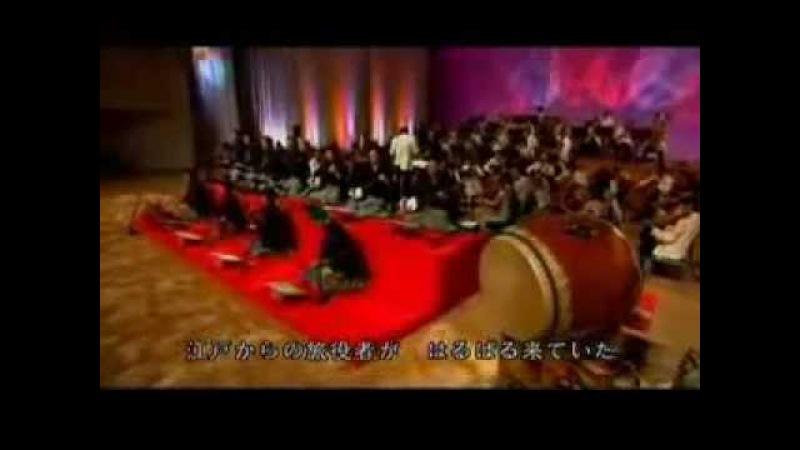 Японский оркестр жжот flv