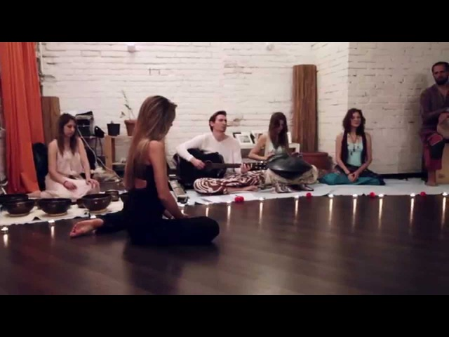 Anna Trish dance impro with AtmanLove Veda Ram 2