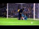 Вратарь отбил все 5 пенальти собственным лицом, Funny penalties cut