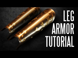 How to make Greaves Armor Tutorial (Version 2)