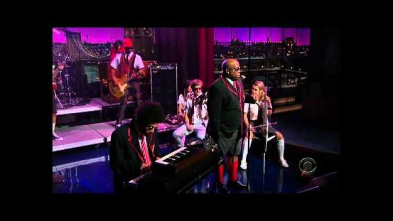 Gnarles Barkley Crazy David Letterman Show